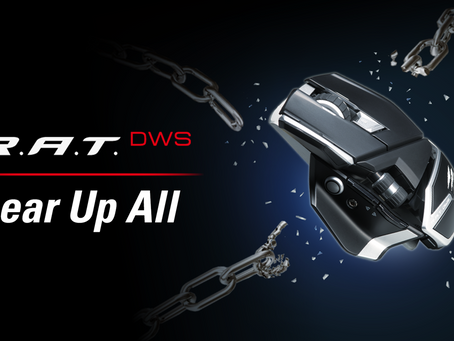 MAD CATZ ANNOUNCES THE R.A.T. DWS WIRELESS GAMING MOUSE