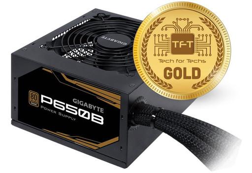 Gigabyte 650B Power supply Review | Tech for Techs