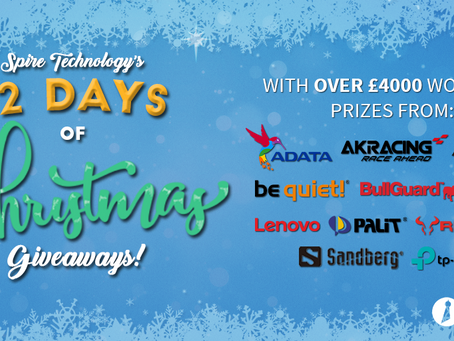 Over £4000 worth of prizes at Spire Technology!