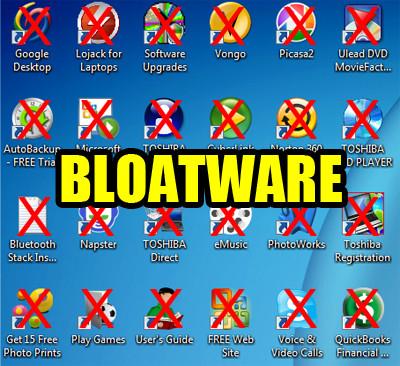 Bloatware is Evil