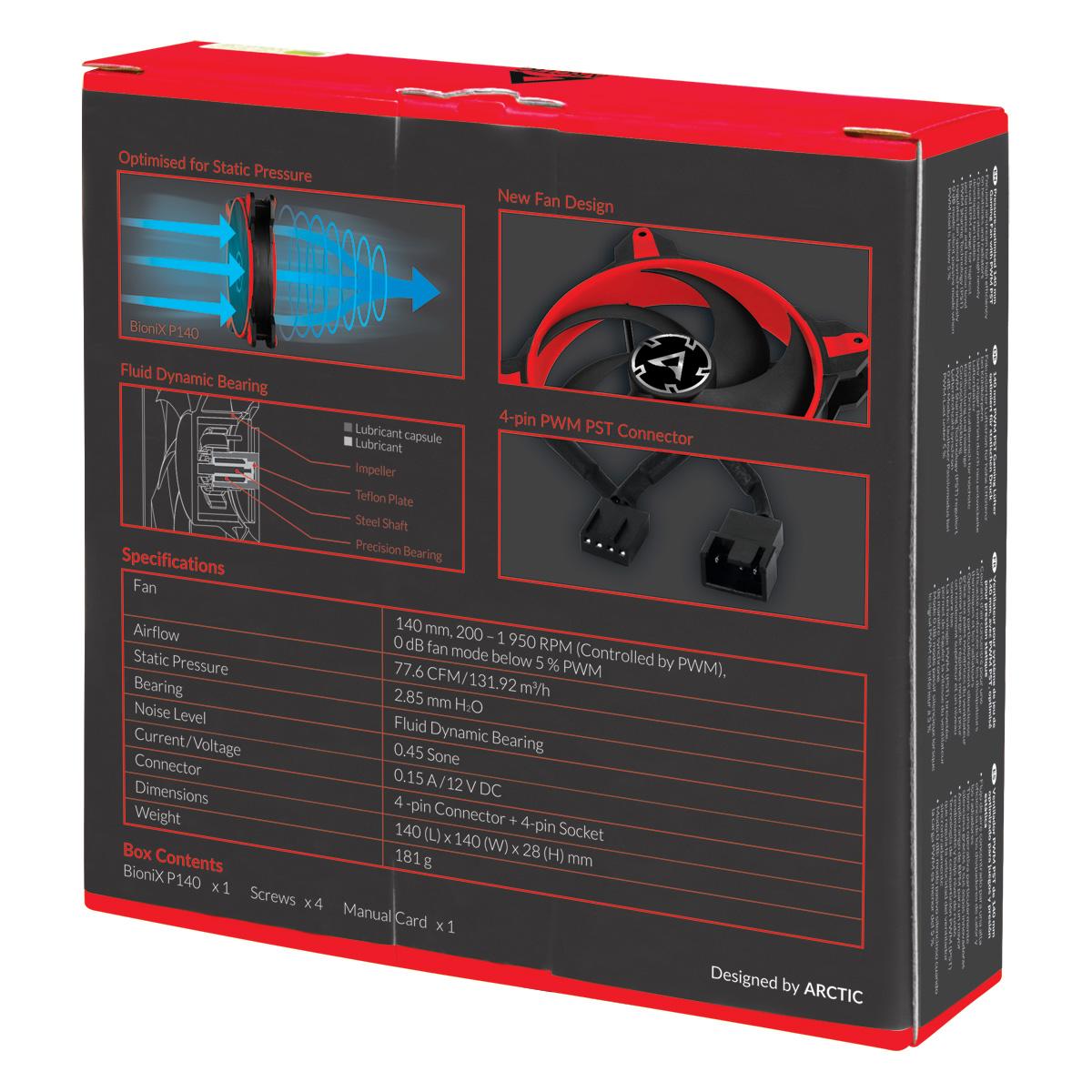 bionix p140 red 3