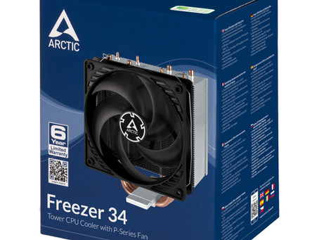 Cooler Temps Ahead -  Arctic Freezer 34 Review