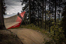 Downhill Fahrrad Mountainbike Herborn Foto Shooting