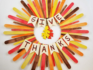 Thanksgiving crafts for all ages!