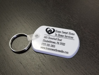 Check out our new key chain design!
