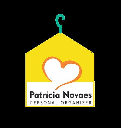 Marca criada para Patrícia Novaes, personal organizer. Rio de Janeiro.
