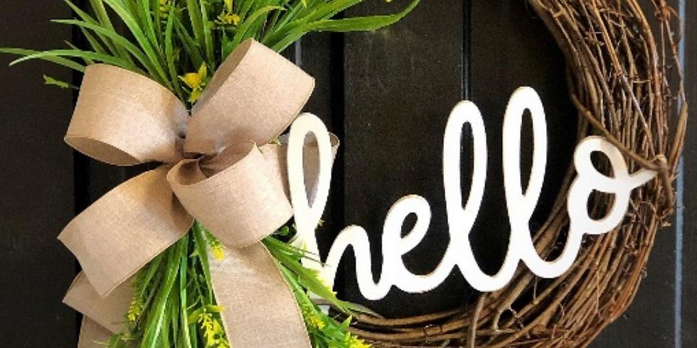 Wreath Making with Jenna
