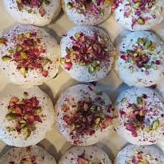 Rose Pistachio Donut