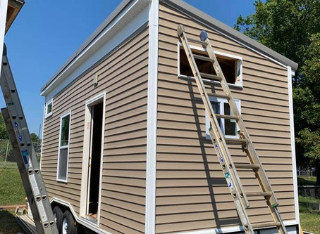 Update!!!🔥🔥🔥Tiny Homes for Harlan County KY students through Awakening Mosaic! Here are a
