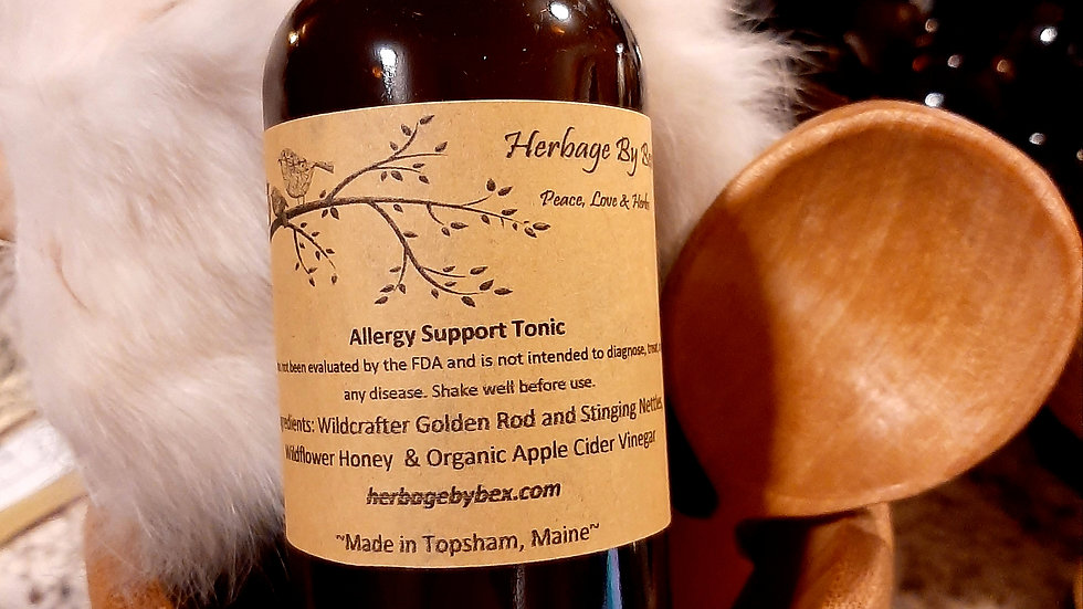 Allergy Support Tonic