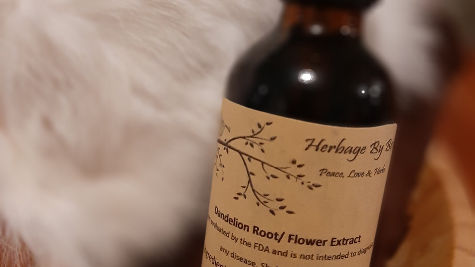 Dandelion Root/Leaf/Flower Extract