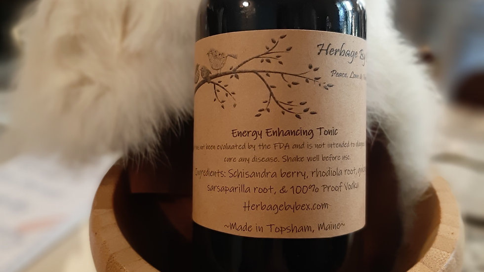 Energy Enhancing Tonic