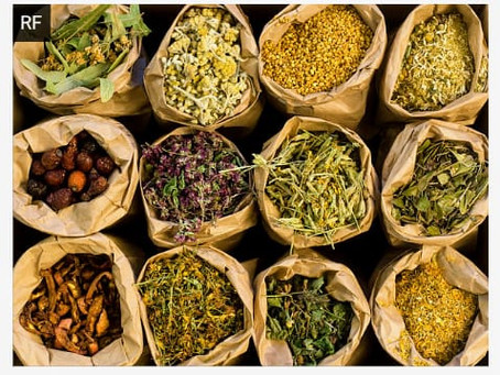 current dried herb list