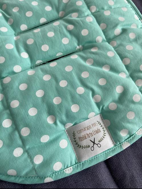 Protetor de Bebê Conforto Assento Poá Tiffany