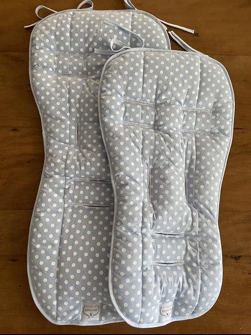 Kit Protetor de carrinho + Protetor de Bebê Conforto Poá