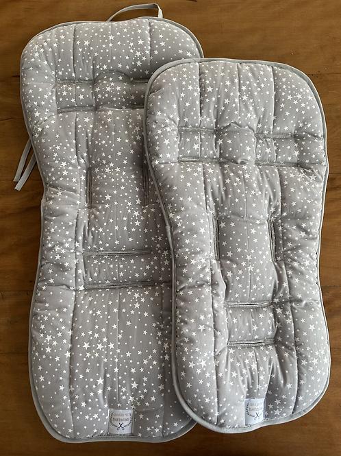 Kit Protetor de carrinho + Protetor de Bebê Conforto Céu Estrelado