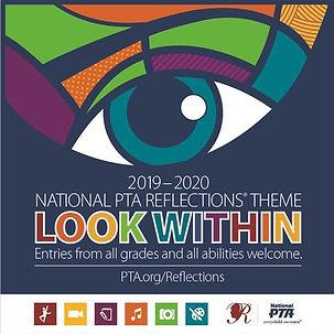 PA PTA - Reflections 2019-20 logo detail