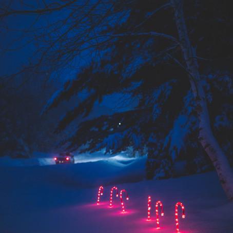 Christmas on I-90