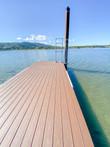 Custom built dock.
