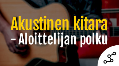 Akustinen kitara - Aloittelijan polku-md