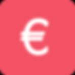 Euro Sign - Pink