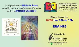 Dr. Beny Schmidt irá participar da 25ª Bienal Internacional do Livro de São Paulo 2018.