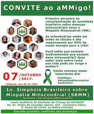 Dr. Beny Schmidt palestrará sobre o tema: MIOPATIA MITOCONDRIAL, A REALIDADE DO DIA-A-DIA E POSSÍVEI