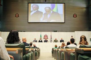 Prof. Dr. Beny Schmidt foi homenageado pela Assembleia Legislativa do Estado de São Paulo e pelo Dep