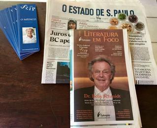FLIP 2017 é destaque no Estado de São Paulo de hoje!!