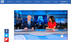 Record TV produz matéria sobre a sessão solene de entrega da Medalha do Mérito Legislativo