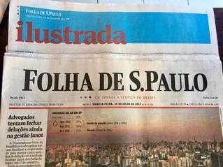 FLIP 2017 é destaque na Folha de São Paulo de hoje!!