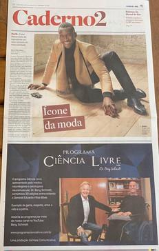 Programa Ciência Livre é destaque na capa do caderno 2, do Jornal o Estado de SP, de hoje (10.09.201