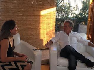 Dr. Beny Schmidt foi entrevistado pela equipe do jornal O Estado de SP
