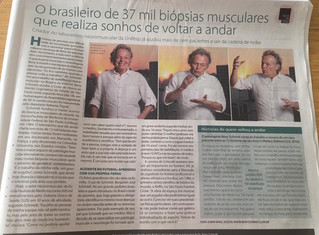 Matéria com Dr. Beny Schmidt é destaque no caderno 2 do jornal O Estado de SP de hoje (17.09)! Confi