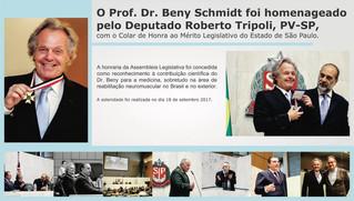 Prof. Dr. Beny Schmidt é destaque no jornal Agora SP