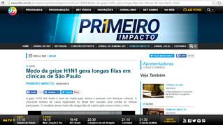 Medo da gripe H1N1 gera longas filas em clínicas de São Paulo