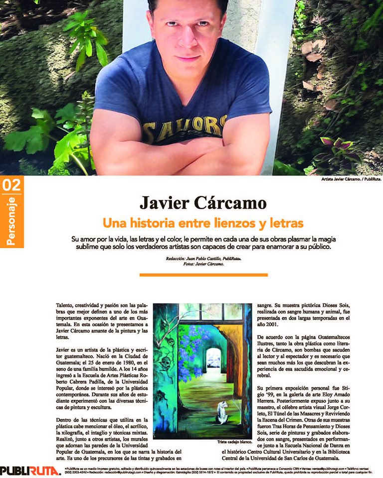 Javier Cárcamo PubliRuta113 2019 interio