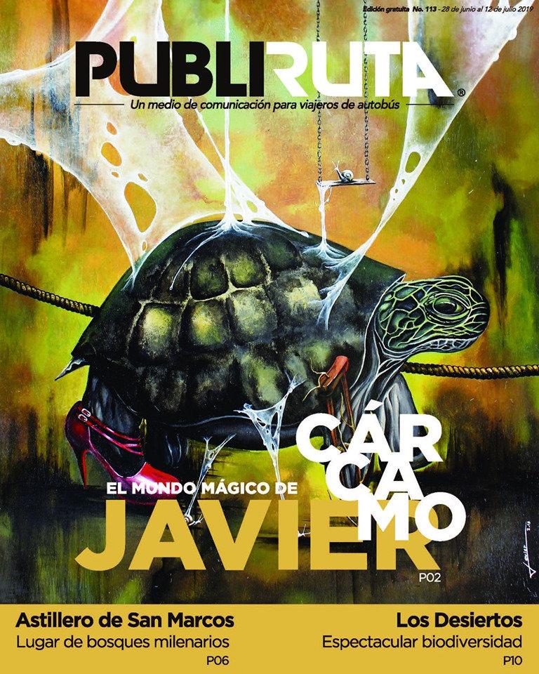 Javier Cárcamo PubliRuta113 2019 portada