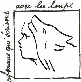 Logo Femme qui ecrivent avec les loups.j