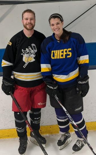 Hockey Teammates