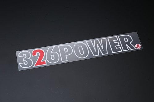 326POWER Open Sticker