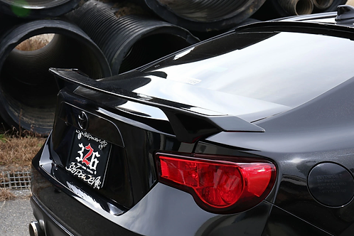 326POWER Toyota GT86 3D☆STAR Trunk Spoiler