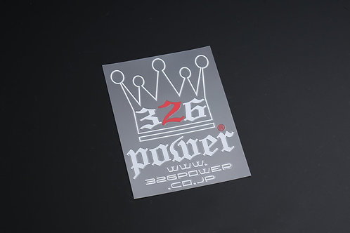 326POWER King Sticker