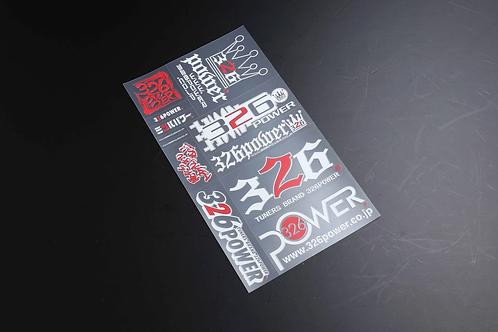 326POWER Mitsutac Sticker Set