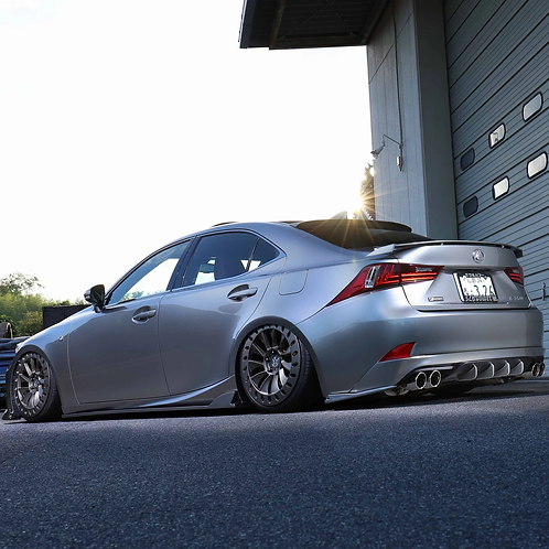 326POWER 3D☆STAR Trunk Spoiler for Lexus IS250/IS300h/IS350