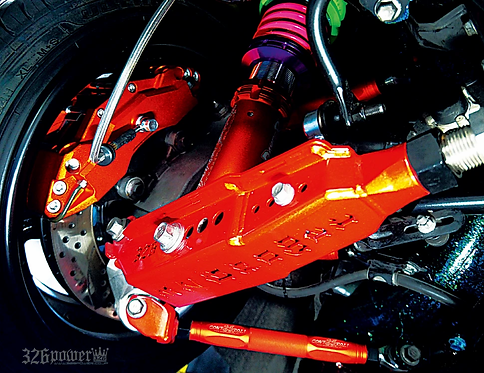 326POWER Toyota Prius/CH-R Adjustable Rear Camber Arms