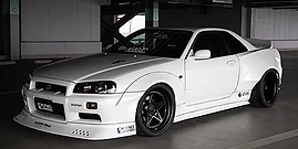 Nissan GTR RWB KRC