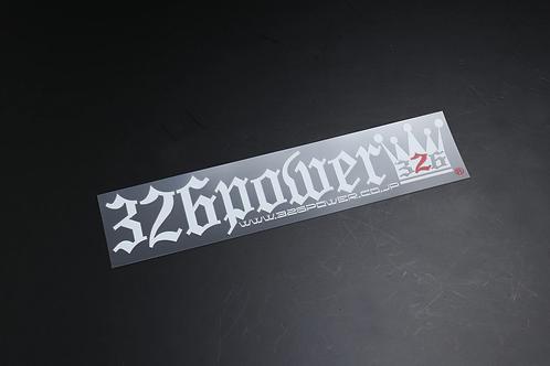 326POWER Type 1 Sticker