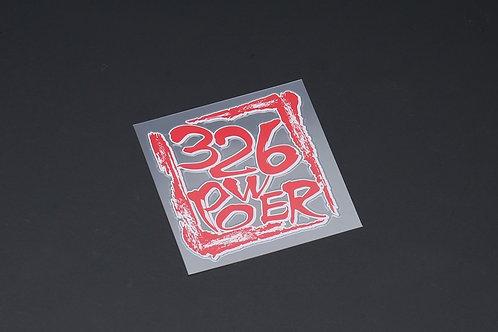 326POWER Mitsuru Stamp Sticker
