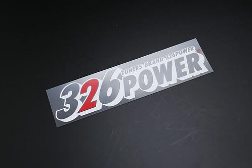 326POWER Type 2 Sticker